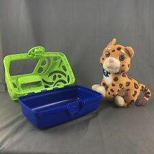 Nick Jr. Go Diego Go Animal Rescue Talking Baby Jaguar Stuffed Plush W/ Cage