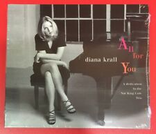 ALL FOR YOU A Dedication To The Nat King Cole Trio by DIANA KRALL CD, 1996 - USA