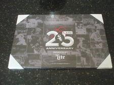 "NIP~CHICAGO WHITE SOX 25th ANNIVERSARY CANVAS (5/21/16) 14""x 9"" ~ Miller Lite"