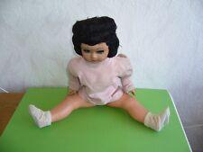506KB2 Grosses alte Puppe, wohl 50er, 60er Jahre