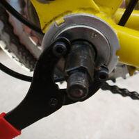 Bike Chain Whip Cassette Bottom Bracket Freewheel Spanner Repair Wrench Tool