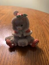 "Calico Kittens Christmas ""Wrapped in the Warmth of Friendship"" Enesco 1993"