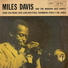 MILES DAVIS and the MODERN JAZZ GIANTS EP