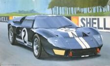 Fujimi 1/24 GT 40 mark 2 silk screen decal with etching parts model kit F/S