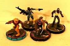 lot figurines MARVEL / DC  heroclix 2002 (C)