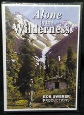 Alone in the Wilderness, Part 1 (DVD, 2003, Alaska) Bob Swerer Prod - NEW