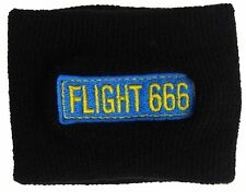 Official Iron Maiden-Flight 666 Logo Schweißband