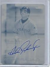 Andres Galarraga 2016 Finest Cyan Printing Plate Autograph #1/1