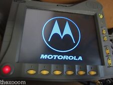 LOT OF 4 - Motorola MW-520 - Police computer-  with keyboard and Monitor