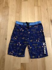 Boys Size 18 (29) Waist Board Shorts Hurley