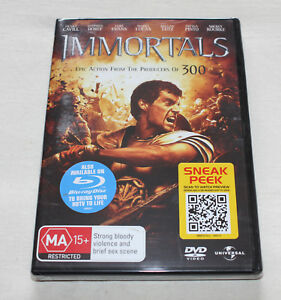 Immortals (DVD, 2012) New Sealed