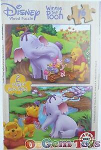 Disney Winnie the Pooh Educa Jigsaw 2 Super Puzzles 16 Pieces