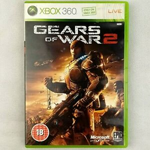 Gears Of War 2  Xbox 360 Manual Included & Clean CD PAL