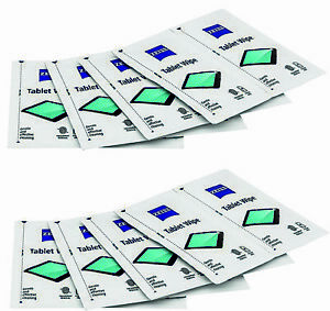 30x ZEISS Cleaning Tablet Wipes Alcohol Free Lens Laptop Camera LCD TV Screen