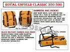 """Royal Enfield """"Desert Color"""" Military Pannier & Fitting For Classic 350 & 500"""