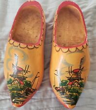 Dutch Wooden Shoes Hand Painted