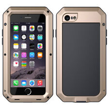 iPhone 6 7 8 11 X XS Max XR Metal Case Cover Waterproof Shockproof Gorilla Glass