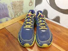 New Balance Minimus Blue & Lime Green Running Shoes Men's 13D MUD RUN Shoes
