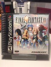 Final Fantasy IX 9 PS1 NTSC USA VGC