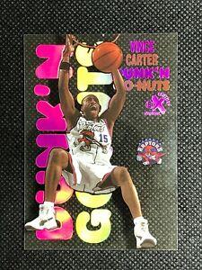VINCE CARTER 1998-99 SKYBOX E-X CENTURY DUNK'N GO-NUTS ROOKIE RC ACETATE #12 DG