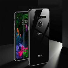 For LG G8 G5 Q7 Q6 V50 Stylo 6 Phone Case Clear Shockproof TPU Bumper Slim Cover