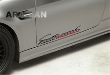 Sports mind V8 Performance Decal Sticker sport car racing door auto logo emblem
