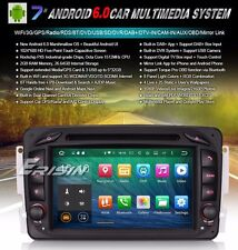 "AUTORADIO 7"" Android 6.0 MERCEDES CLASSE  C CLK M A G ML Navigatore Gps Mp3 USb"