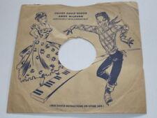 "RARE Amos Milburn 78 10"" Sleeve for Square Dance Boogie RARE"