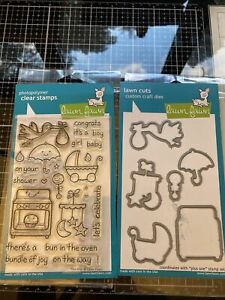 Lawn Fawn Plus One Stamps With Coordinating Dies