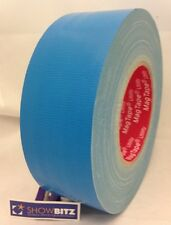 Gaffa SKY BLUE GLOSS Gaffer duct Tape 50mm X 50m MAGTAPE® Utility tape