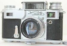 Kiev 3A Rangefinder 35mm Film Camera & Jupiter 8 Kiev IIIa