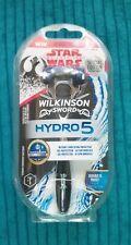 Wilkinson Sword Hydro 5 de la maquinilla de afeitar Nuevo En Caja + BN de entrada de la guerra de las galaxias la competencia