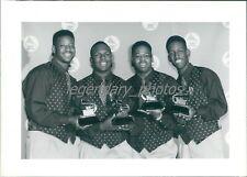 1993 Boyz II Men at 35th Annual Grammy Awards Original News Service Photo