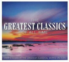 THE GREATEST CLASSICS OF ALL TIME - VARIOUS ARTISTS (NEW SEALED 3CD)