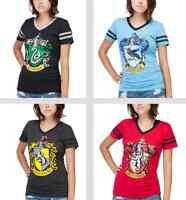 Harry Potter Slytherin Gryffindor Hufflepuff Ravenclaw t-shirt Juniors S-2XL