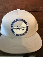 Rare Vtg United States Usa Air Force One Mesh Trucker Snapback Hat Cap
