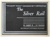 Vintage The Silver Rail Restaurant Photo San Francisco Gay Interest 1940s