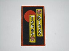 TOKYO BLADE NWOBHM WOVEN PATCH