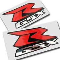 1000 600 750 Chrome, Rouge Noir Moto Sticker Autocollants Graphique X 2