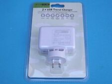 2 Ports USB Wall Charger AU Plug Power Adapter for iPhone 6 6S 5 4 iPad Air 10W