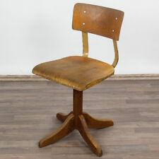 alter Ama Elastik Modell 325 Arbeits Dreh Stuhl Bauhaus Ära 30er-50er Jahre #7