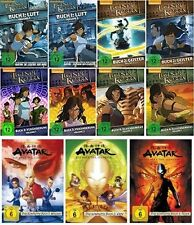 21 DVDs * DIE LEGENDE VON KORRA + AVATAR - HERR DER ELEMENTE IM SET # NEU OVP +