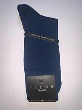 Falke Tiago Fil D'ecosse Royal Blue Socks Size 8½ - 9½