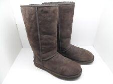 Ugg Australia Women's 5815 Classic Tall  Sheepskin Boots Chocolate Size 8M