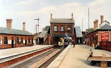 EASTWOOD STATION NOTTINGHAM SIGNED PRINT THE PARNHAM GALLERY