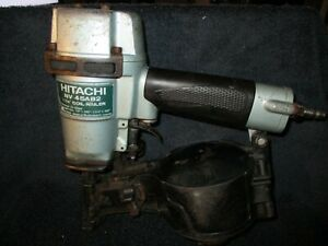 Hitachi NV45AB2 1-3/4 inch Adjustable Drive Coil Roofing Nailer-Working!