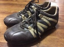 ECCO Leather TPU Golf Shoes Size 43 Used