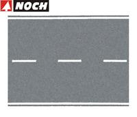 NOCH H0 60703 Bundesstraße grau, 100 x 8 cm (1 m² - 84,88 €) - NEU + OVP