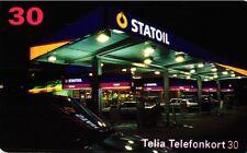 2019 SCHEDA TELEFONICA PHONECARD USATA SVEZIA SWEDEN STATOIL 30