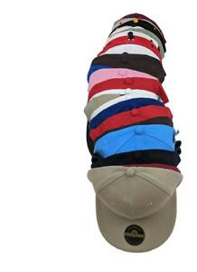 Plain Fitted Cap New Acrylic Multi-Brand Baseball Hat S-2XL